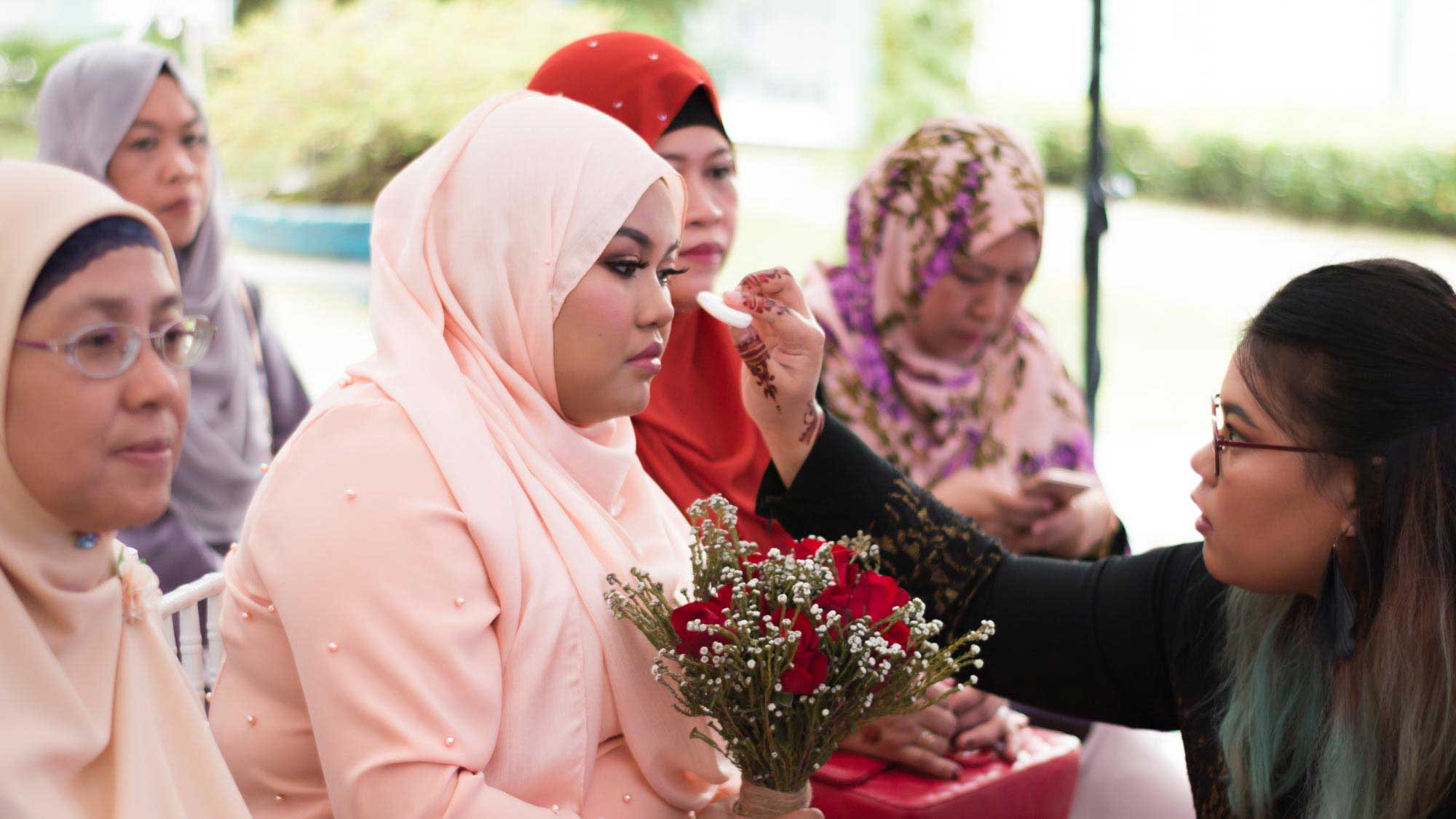 Malay Wedding Engagement